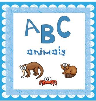 ABC Animal Posters