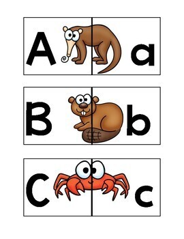 ABC Animal Puzzles Center