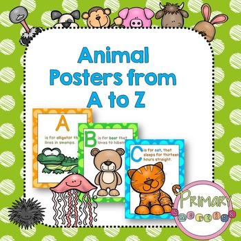 ABC Animals Posters