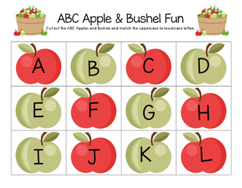 ABC Apple & Bushel Fun