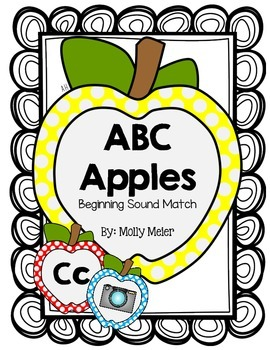 ABC Apples - Beginning Sound Match