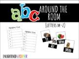 ABC Around the Room (M-Z)