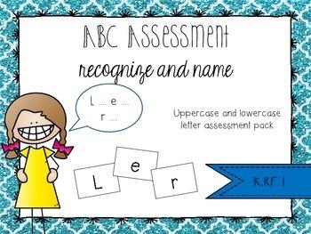 ABC Assessment Pack K.RF.1