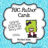 Library Skills:  ABC Author Card Game