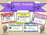 End of the year ABC Awards - Editable