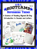 ABC Bootcamp: A 26-Day Introduction to Letters and Sounds (Superhero Theme)