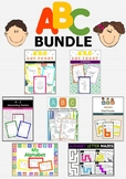ABC BUNDLE - Alphabet Activities for Preschool & Kindergarten