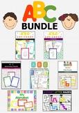 ABC BUNDLE - Alphabet Activities for Preschool & Kindergarten