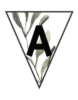 ABC Banner Cards ~ Farmhouse Shiplap