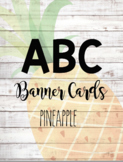 ABC Banner Cards ~ Pineapple & Shiplap