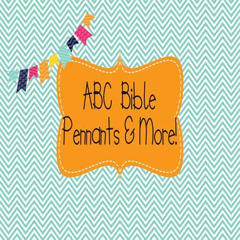 Bible ABC Banner, Bible verse Posters, Brag tags, etc...