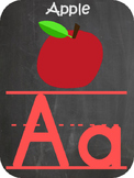 ABC Banner Primary Chalkboard