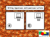 ABC Basketball-Themed Writing Lowercase Partners.