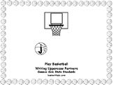ABC Basketball-Themed Writing Uppercase Partners