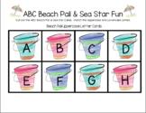 ABC Beach Pail & Sea Star Fun