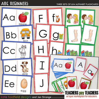 ABC Beginners Cards