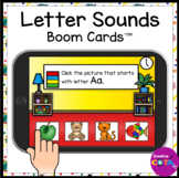 ABC Beginning Letter Sounds BOOM Cards for Distance Learning