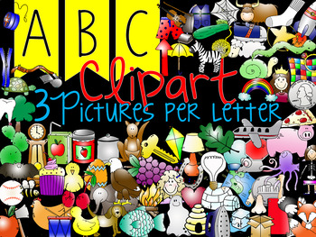 ABC Beginning Sounds Clipart