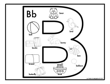 ABC Beginning Sounds Coloring Pages