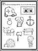 ABC Beginning Sounds Print And Go -No Prep Printables