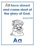 ABC Bible Memory Verses & Master Sheet