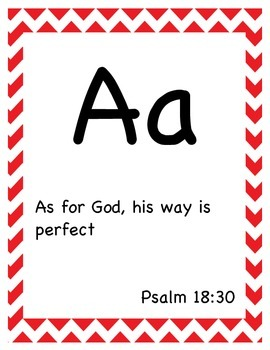 ABC Bible Verse Cards