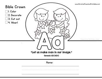 ABC Bible Verse Crowns