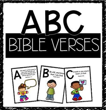 Bible Flash Cards & Worksheets | Teachers Pay Teachers