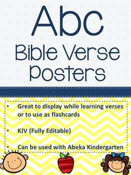 ABC Bible Verse Posters
