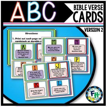 ABC Bible Verses Flash Cards