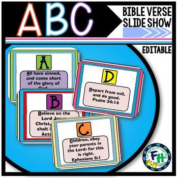 ABC Bible Verses Slide Show