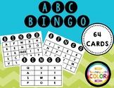 ABC Bingo! Letter Recognition!