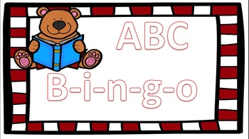 ABC Bingo ((Lower and Upper Case Letters))