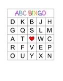 ABC Bingo (Uppercases)