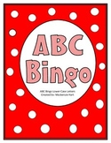 ABC Bingo cards - Lowercase letters