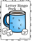 ABC Bingo- Uppercase and Lowercase Hot Chocolate