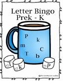 ABC Bingo- Uppercase and Lowercase Hot Chocolate