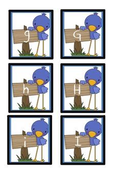 ABC Bird Memory