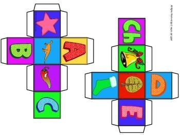 ABC Blocks in Spanish - FREEBIE!