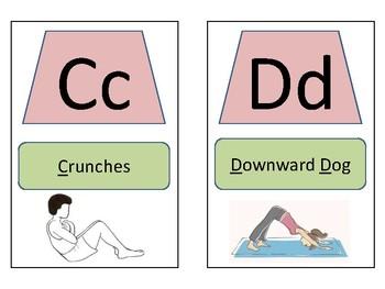 ABC Body Break Cards