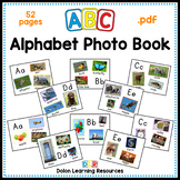 ABC Alphabet Photo Book