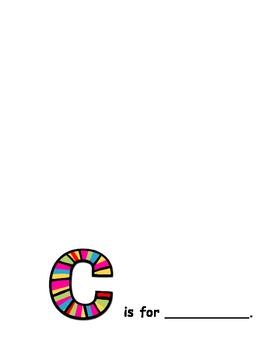 ABC Book - Blank