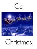 ABC Book: December Words