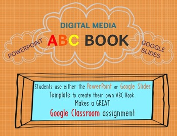 ABC Book Digital Media (PowerPoint and Google Slides)
