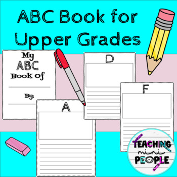 ABC Book For Older Grades