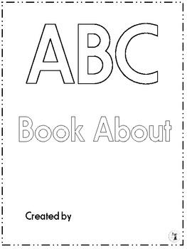 ABC Book For Teacher