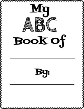ABC Book For Younger Grades