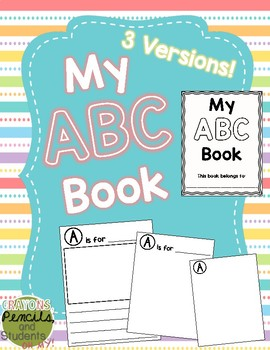 ABC Book - Full Page