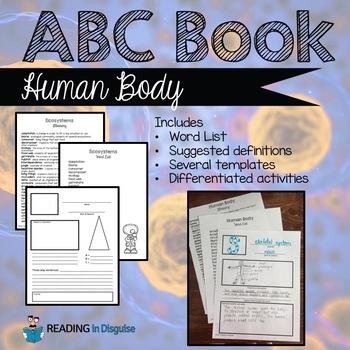Human Body Vocabulary Study