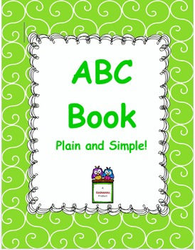 ABC Book Plain and Simple